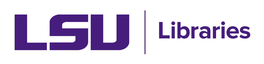 Louisiana State University Libraries logo